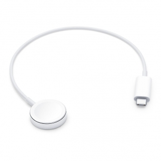 Apple Watch Magnetic Charger to USB-C Cable 0.3m White