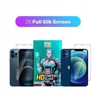 Захисне скло ZK для iPhone 12/12 Pro 2.5D Full Silk Screen 0.26mm