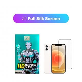 Захисне скло ZK для iPhone 12 Mini 2.5D Full Silk Screen 0.26mm