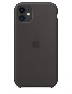 Silicone Case iPhone 11 - Black (Original Assembly)