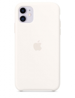 Silicone Case iPhone 11 - Soft White (Original Assembly)