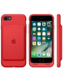 Чехол-батарея Apple Smart Battery Case для iPhone 7, iPhone 8, iPhone SE (Red)