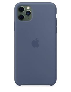 Silicone Case iPhone 11 Pro Max - Alaskan Blue (Original Assembly)