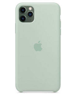 Silicone Case iPhone 11 Pro Max - Beryl (Original Assembly)