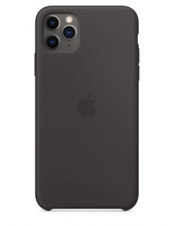Silicone Case iPhone 11 Pro Max - Black (Original Assembly)
