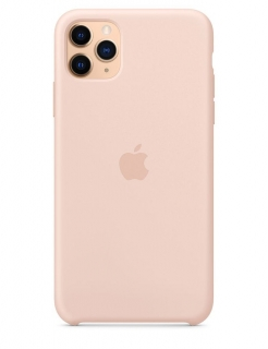 Silicone Case iPhone 11 Pro Max - Pink Sand (Original Assembly)