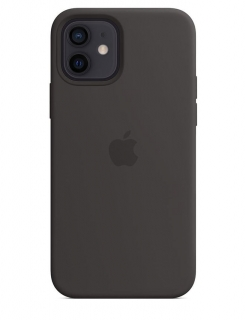Silicone Case iPhone 12 Mini - Black