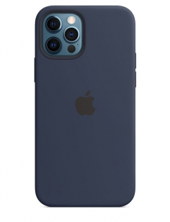 Silicone Case iPhone 12 | 12 Pro - Deep Navy (Original Assembly)