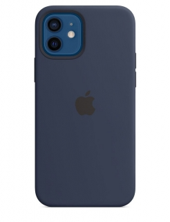 Silicone Case iPhone 12 Mini - Deep Navy  (Original Assembly)