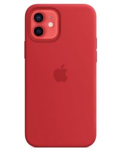 Silicone Case iPhone 12 | 12 Pro - Product (RED) (Original Assembly)
