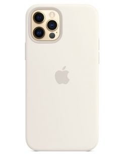 Silicone Case iPhone 12 | 12 Pro - White (Original Assembly)