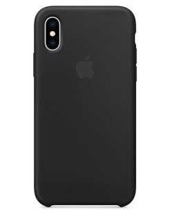 Silicone Case iPhone X/Xs - Black (Original Assembly)