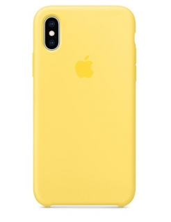 Silicone Case iPhone X/Xs - Canary Yellow (Original Assembly)