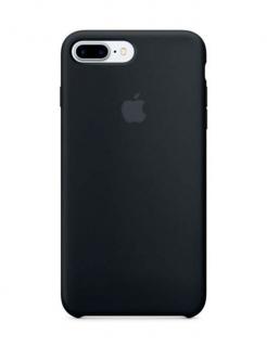Silicone Case iPhone 7 Plus | 8 Plus - Black (Original Assembly)