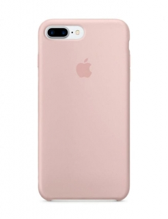 Silicone Case iPhone 7 Plus | 8 Plus - Pink Sand (Original Assembly)