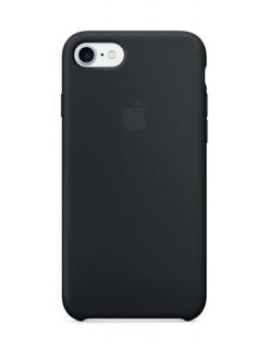 Silicone Case iPhone 7|8|SE(2020) - Black (Original Assembly)