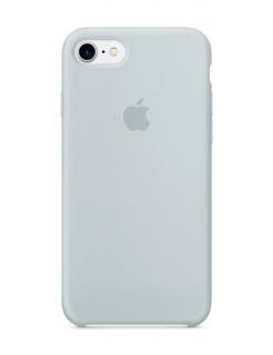 Silicone Case iPhone 7|8|SE(2020) - Mist Blue (Original Assembly)