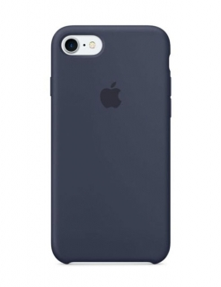 Silicone Case iPhone 7|8|SE(2020) - Midnight Blue (Original Assembly)