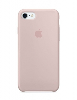 Silicone Case iPhone 7|8|SE(2020) - Pink Sand (Original Assembly)