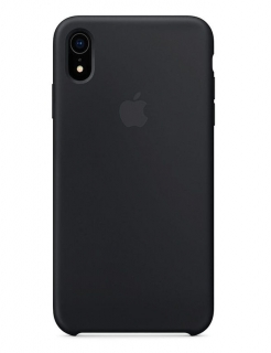 Silicone Case iPhone XR - Black (Original Assembly)