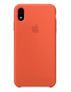 Silicone Case iPhone XR - Nectarine (Original Assembly)
