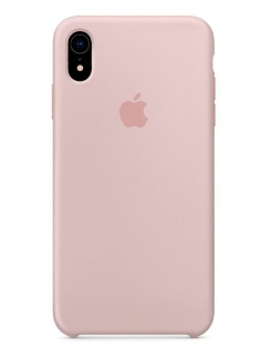 Silicone Case iPhone XR - Pink Sand (Original Assembly)