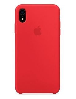 Silicone Case iPhone XR - Product (RED) (Original Assembly)