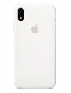 Silicone Case iPhone XR - White (Original Assembly)