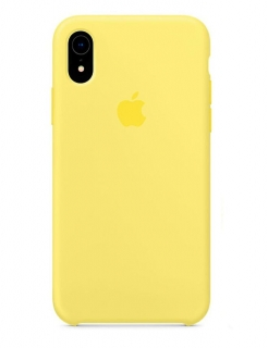 Silicone Case iPhone XR - Lemonade (Original Assembly)