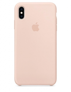 Silicone Case iPhone XS Max - Pink Sand (Original Assembly)