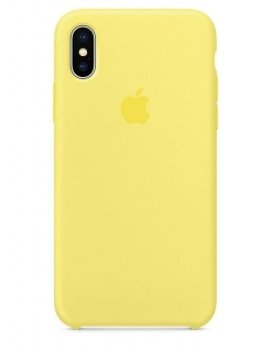 Silicone Case iPhone XS Max - Lemonade (Original Assembly)