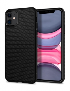 Чохол Spigen Liquid Air, iPhone 11 (Black)