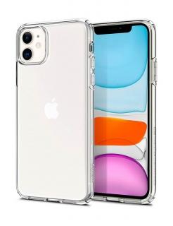 Чохол Spigen Liquid Crystal, iPhone 11 (Crystal Clear)