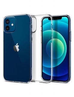 Чохол Spigen Liquid Crystal, iPhone 12/12 Pro (Crystal Clear)