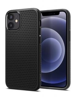 Чохол Spigen Liquid Air, iPhone 12 mini (Black)