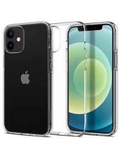 Чохол Spigen Liquid Crystal, iPhone iPhone 12 mini (Crystal Clear)