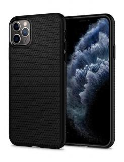 Чохол Spigen Liquid Air, iPhone 11 Pro Max (Black)