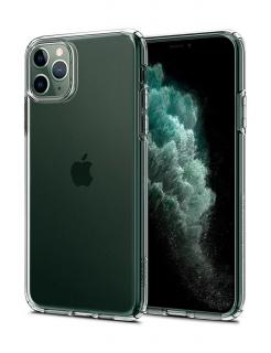 Чохол Spigen Liquid Crystal, iPhone 11 Pro Max (Crystal Clear)