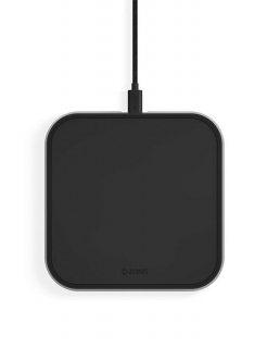 Бездротова зарядка Zens Single Aluminium (Black)