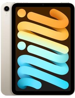 Планшет Apple iPad Mini 6, 256GB, Wi-Fi + LTE, Starlight