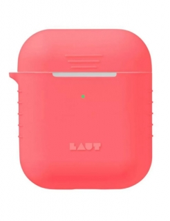 Чохол LAUT POD Neon Protective Case for AirPods Electric Coral