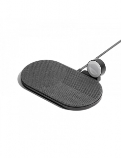Бездротова зарядка Native Union Drop XL Watch Wireless Charger Fabric Slate