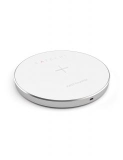 Бездротова зарядка Satechi Wireless Charging Pad Silver