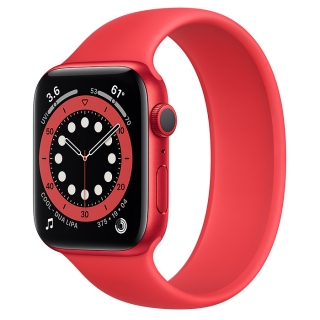 Apple Watch Series 6 44mm (PRODUCT)RED Aluminum Case with (PRODUCT)RED Solo Loop