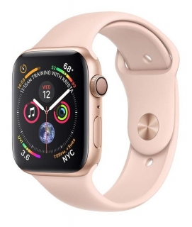 Б/У Apple Watch Series 4 40mm Gold Aluminum Case with Pink Sand Sport Band