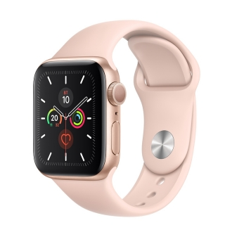 Б/У Apple Watch Series 5 40mm Gold Aluminium Case with Pink Sand Sport Band