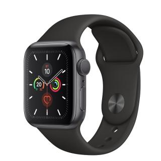 Б/У Apple Watch Series 5 40mm Space Gray Aluminium Case with Black Sport Band
