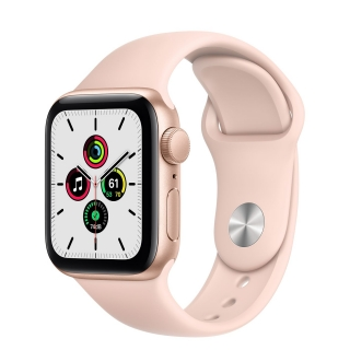 Apple Watch Series SE 40mm Gold with Pink Sand Sport Band