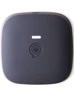 Zens Power Pack Wirelessly Rechargeable 7800 mAh Black