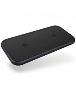 Бездротова зарядка Zens Dual Aluminium Wireless Charger Black with USB-C 30W